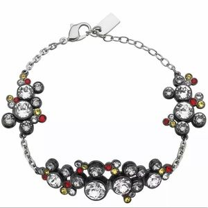 NIB $299 Atelier Swarovski Mickey Mouse Bracelet